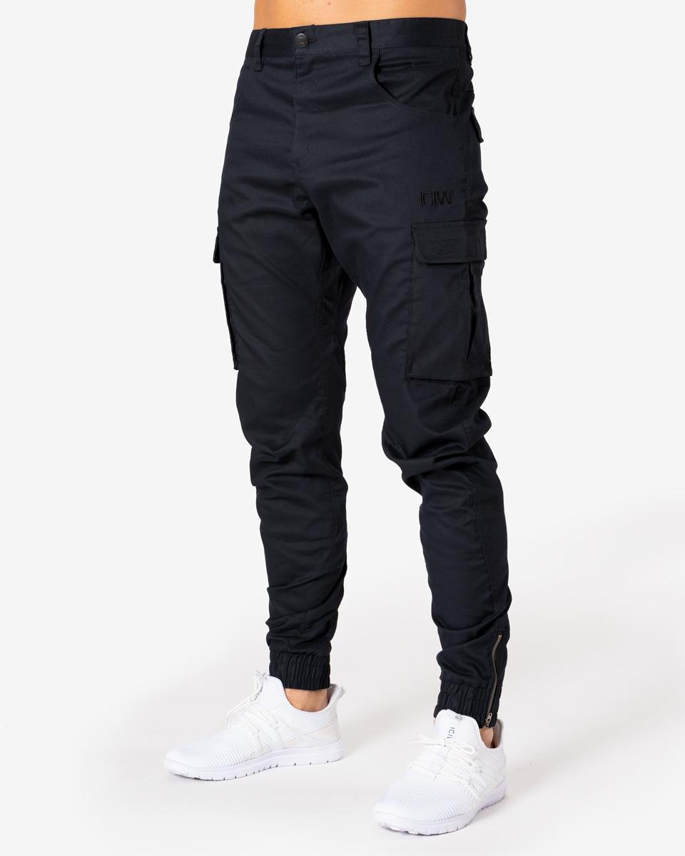 ICIW Cargo Pants Black Man
